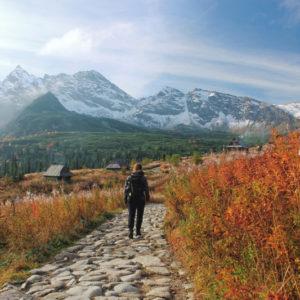 jesien w gorach